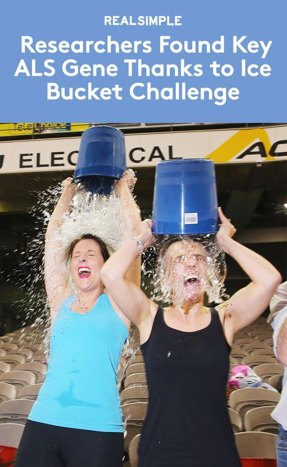 The Ice Bucket Challenge Helped Researchers Find a Key ALS Gene | This breakthrough discovery may provide a new target for therapy development.