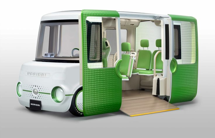 autobus budoucnosti DAIHATSU NORIORI CONCEPT