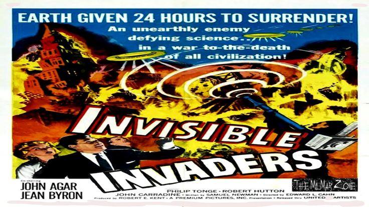 Invisible invaders 1959 a scifi horror movie trailer