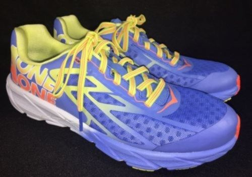 89.99$  Watch now - http://viedd.justgood.pw/vig/item.php?t=pqg87x38991 - Hoka One One Women's Tracer Ultramarine / Neon Coral Running Athletic Shoes 89.99$