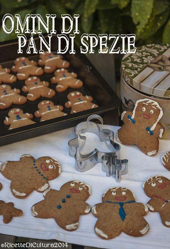 Ricette di Cultura: Omini di pan di spezie, gingerbread men cookies