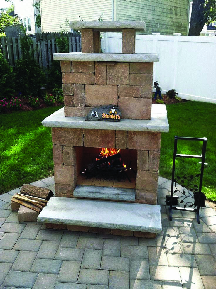 Fire Place Design Concepts For An Elegant Exterior Space Homes Tre Outdoor Fireplace Patio Backyard Fireplace Build Outdoor Fireplace