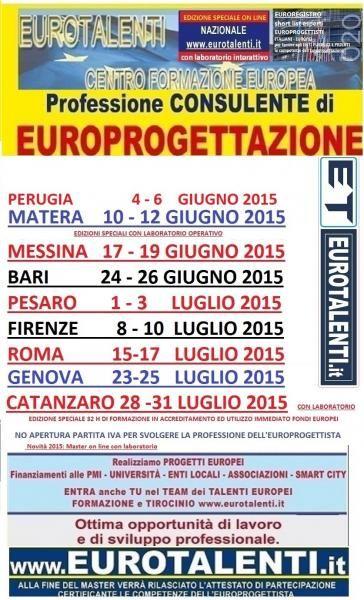 #EUROPROGETTAZIONE ON LINE SUL WEB