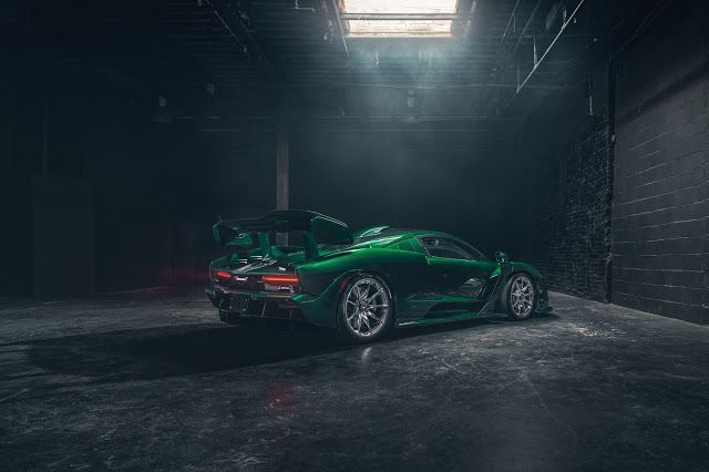 Emerald Green Carbon Senna Mclaren Car Wallpapers Sports Car Wallpaper