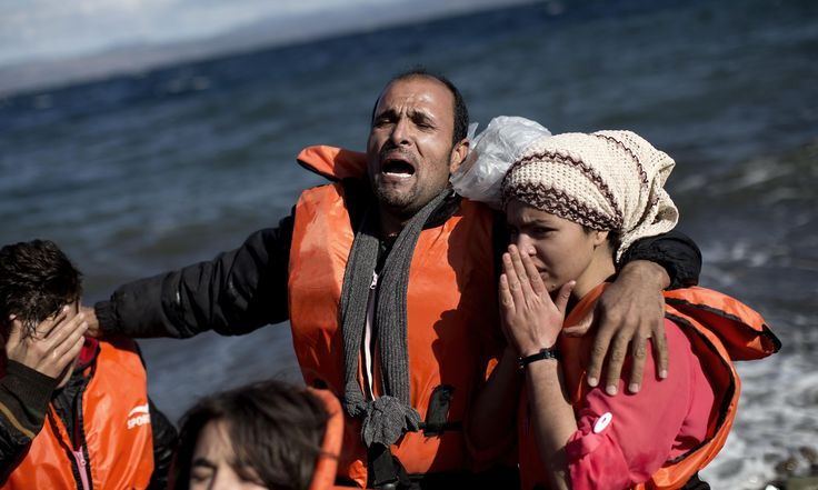 Lesbos volunteer tells of 'huge amount of trauma' as refugee boats capsize