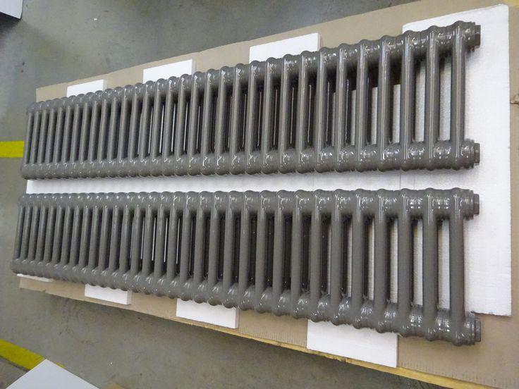 Column Radiators Aqua.
