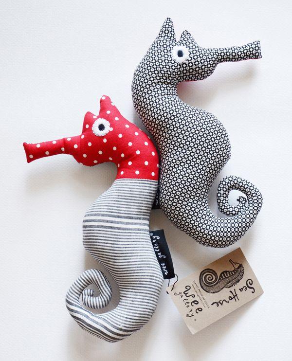 seahorse plush toys