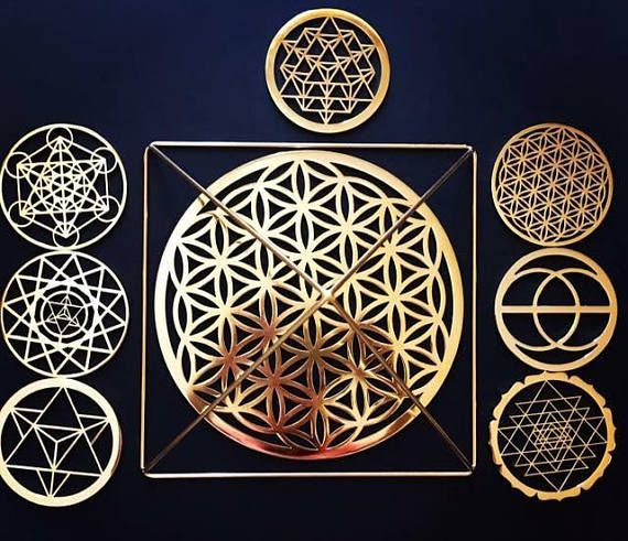 Sacred geometry is the divine order found within all nature and is used to awaken higher energies, align to the Soul and raise consciousness, allowing for the deepest levels of meditation, relaxation and healing. Sacred geometry is an ancient science, a sacred language, and a key