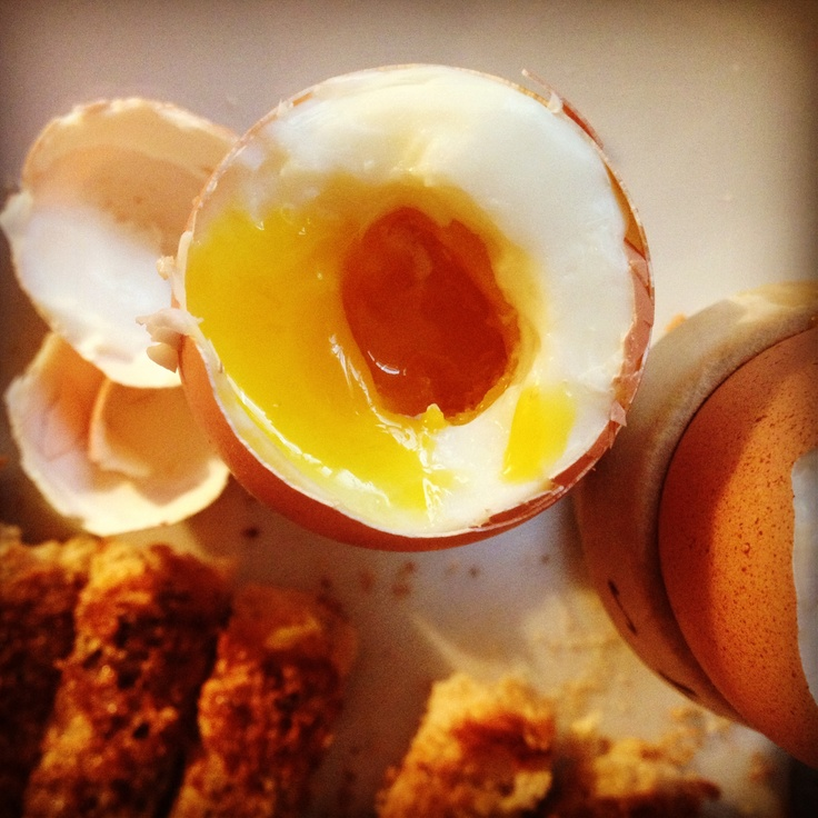 For lunch I really fancy dippy eggs and soldiers