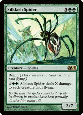 Magic: the Gathering - Silklash Spider (191) - Magic 2013 by Wizards of the…