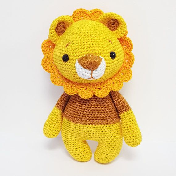 Haekelanleitung/ Pattern German English Leo por AmalouDesigns
