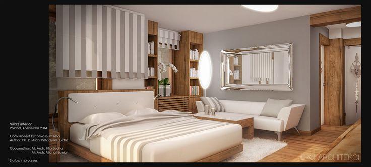 Sleeping Room Design | Projekt Sypialni