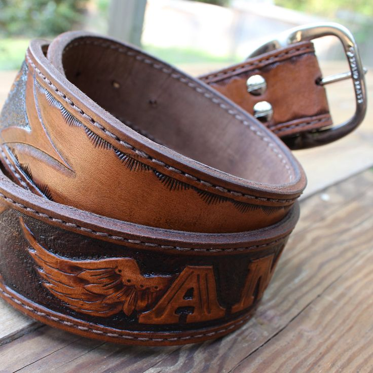 1000 ideas about custom leather belts on