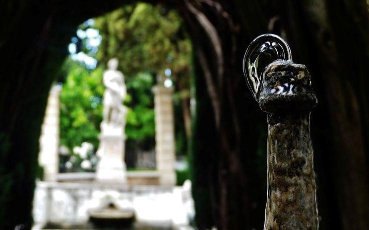 ¿Sabías qué la escultura de Diana Cazadora es una copia que se realizó exprofeso para el jardín del carmen de la Fundación? Foto: Antonio Maldonado