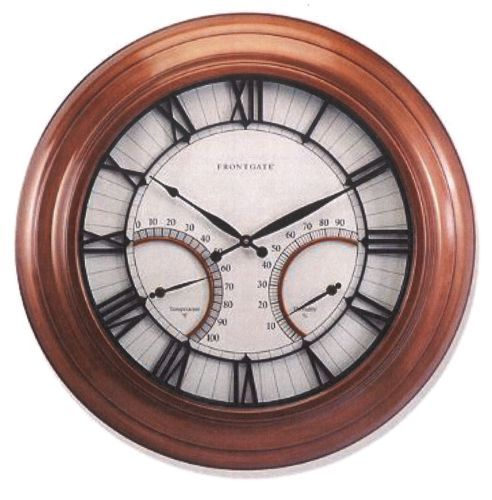 Oxford Outdoor Wall Clock From Frontgate