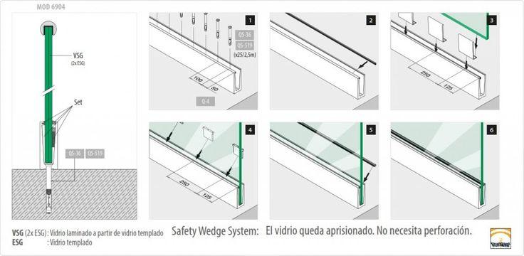 Barandillas de cristal dwg buscar con google barandas - Barandas de terrazas ...