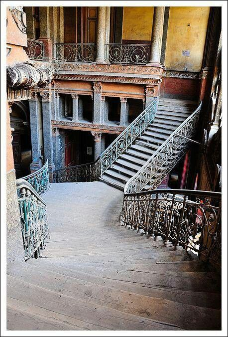 Abandoned mansion in Egypt