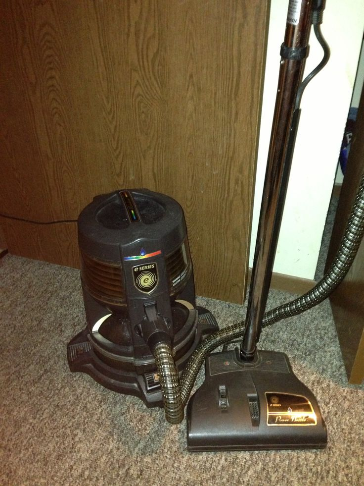 This is my rainbow E-Series (the water vacuum). I actually used to sell these until I found out what a scam vacuum sales actually are.