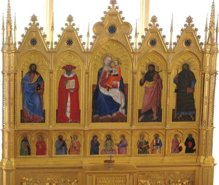 Среди станковых работ Нардо ди Чоне есть только один сохранившийся целиком полиптих — это так называемый «Бойницкий алтарь» (ок. 1350 г. Замок Бойнице, Словакия). Произведение состоит из десяти деревянных панелей, на которых в главном ряду изображены: в центре «Мадонна с младенцем» (110х70см), по сторонам от неё святые Яков, Иероним, Иоанн Креститель и св. Райнерий.