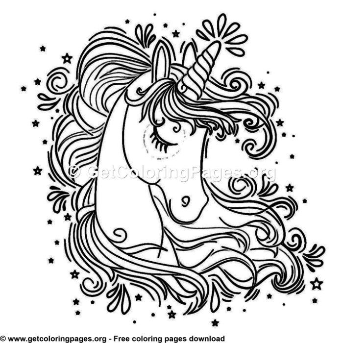 96 Cute Cartoon Unicorn Coloring Pages Unicorn Coloring Pages Horse Coloring Pages Mermaid Coloring Pages