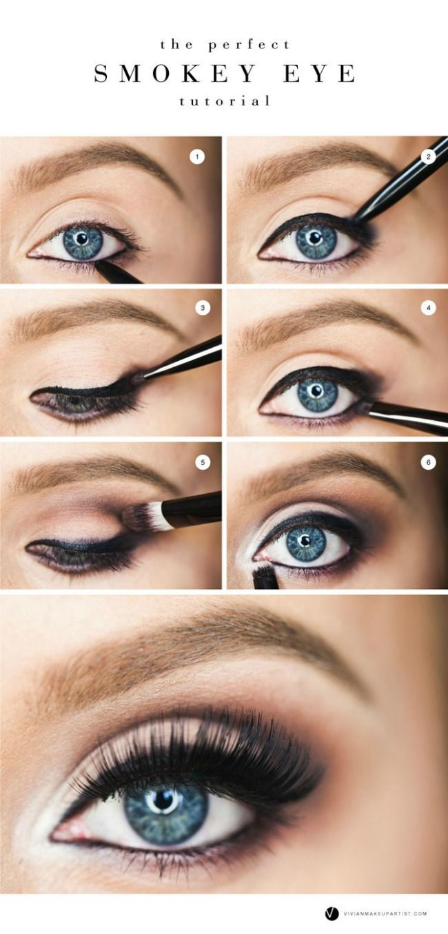 The 11 Best Eye Makeup Tips and Tricks | The Perfect Smokey Eye Tutorial http://www.the11best.com/eye-makeup-tips-and-tricks/