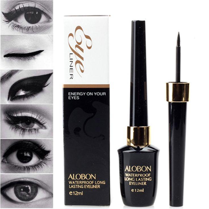 New Cosmetic Waterproof Eye Liner pencil make up black liquid Eyeliner Shadow Gel Black EyeLiner Pencil Pen M01768