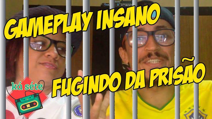 Gameplay com a Patroa   Fuga da Prisão