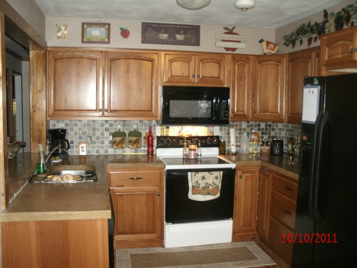 Opening up a small galley kitchen house pinterest for Opening up a galley kitchen