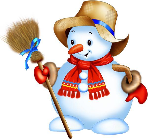 187 best clip art winter images on pinterest snowman - Clipart bonhomme de neige ...