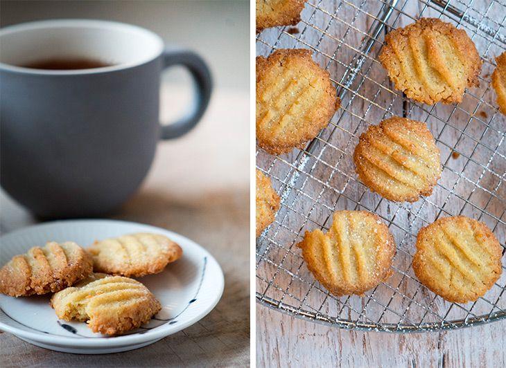 Sprøde bergamotte småkager