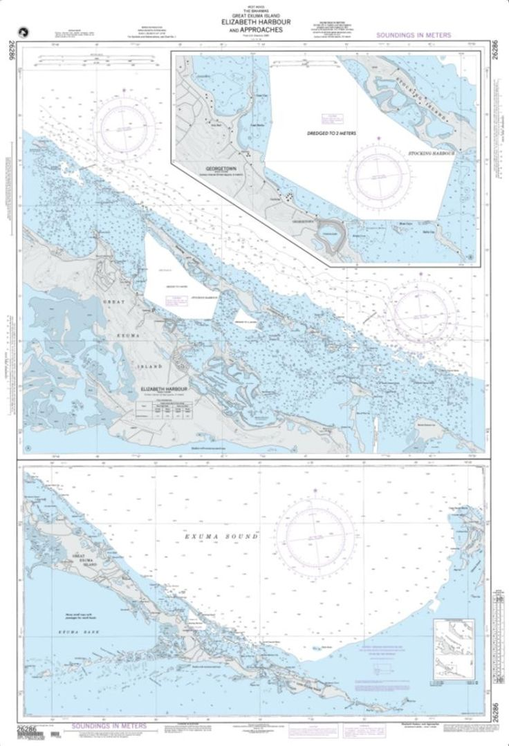 Elizabeth Harbour And Approaches Nautical Chart (26286) by National Geospatial-Intelligence Agency
