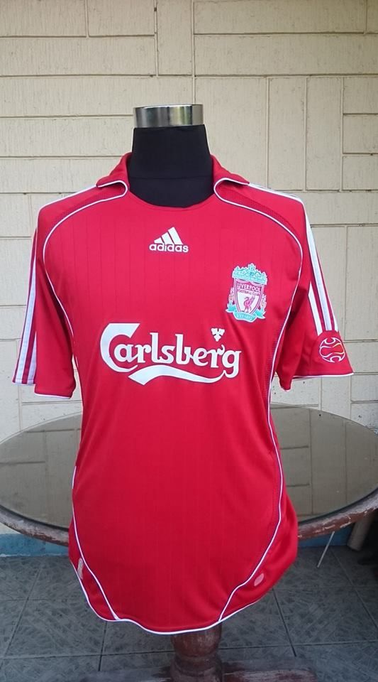 4d294488b ENGLISH PREMIER LIVERPOOL FC 2006-08 HOME JERSEY FA COMMUNITY SHIELD  CHAMPION ADIDAS SHIRT CAMISETA