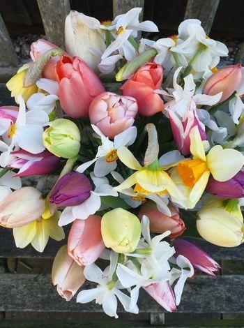 Gorgeous spring flower bouquet!