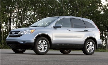 2011 Honda CR-V. my sister's. totally jealous.