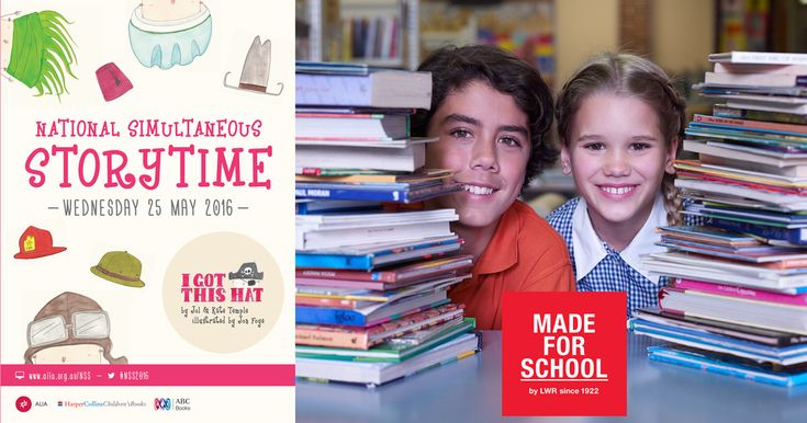 Time to have some fun with the kids for National Simultaneous Storytime - Natalie