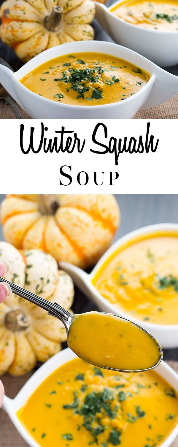 This vibrant and tasty recipe for Winter Squash Soup is a healthy way to warm up on cold winter days. Make the most of winter's harvest with this warming, seasonal soup.