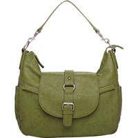 Kelly Moore Bag B-Hobo Bag with Removable Basket KMB-HOBB-GRN