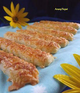 AranyTepsi: A legegyszerűbb sajtos rúd