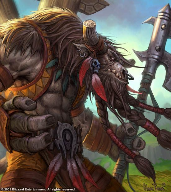 When you play World of Warcraft, you can either be a Tauren, or you can be an idiot. Sadly, that makes me an idiot.