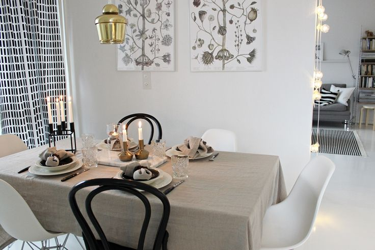 Vitra / Eames Dsr / Ton / Thonet / Artek / Kubus / By Lassen / Marble / Iittala / Hobstar / Balmuir / Linen / Table setting / Scandinavian home