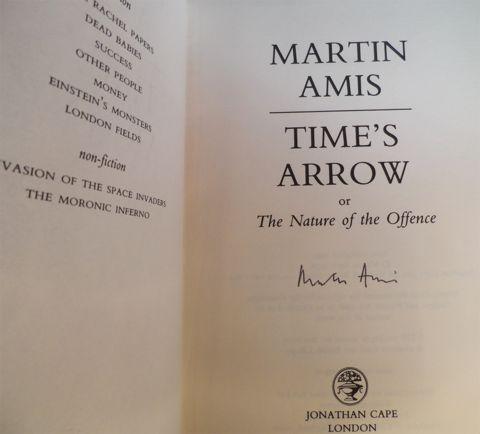 AMIS, Martin. TIME'S ARROW