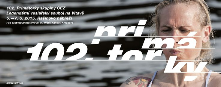 w:u studio 2015 visuals for legendary rowing competition 102nd Mayors Eights  / Graphic design by Dynamo design Prague