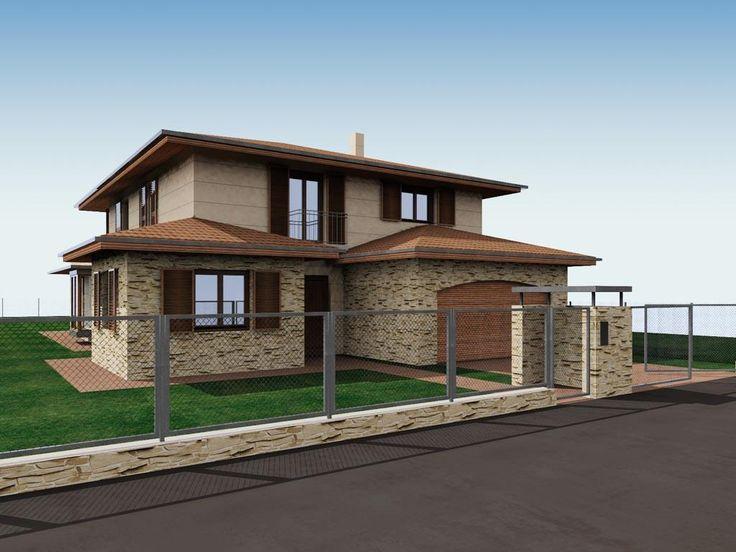 - Mediterrán jellegű családi ház
