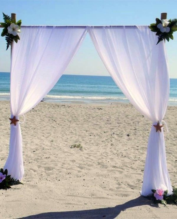 Diy Beach Wedding Arch: 66 Best Beach Wedding Arches Images On Pinterest