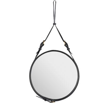 Adnet peili merkiltä Gubi. Jacques Adnet muotoili peilin 50-luvulla, ja onnistui luomaan tuotte...