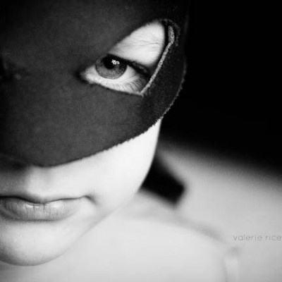 close-up superhero photography