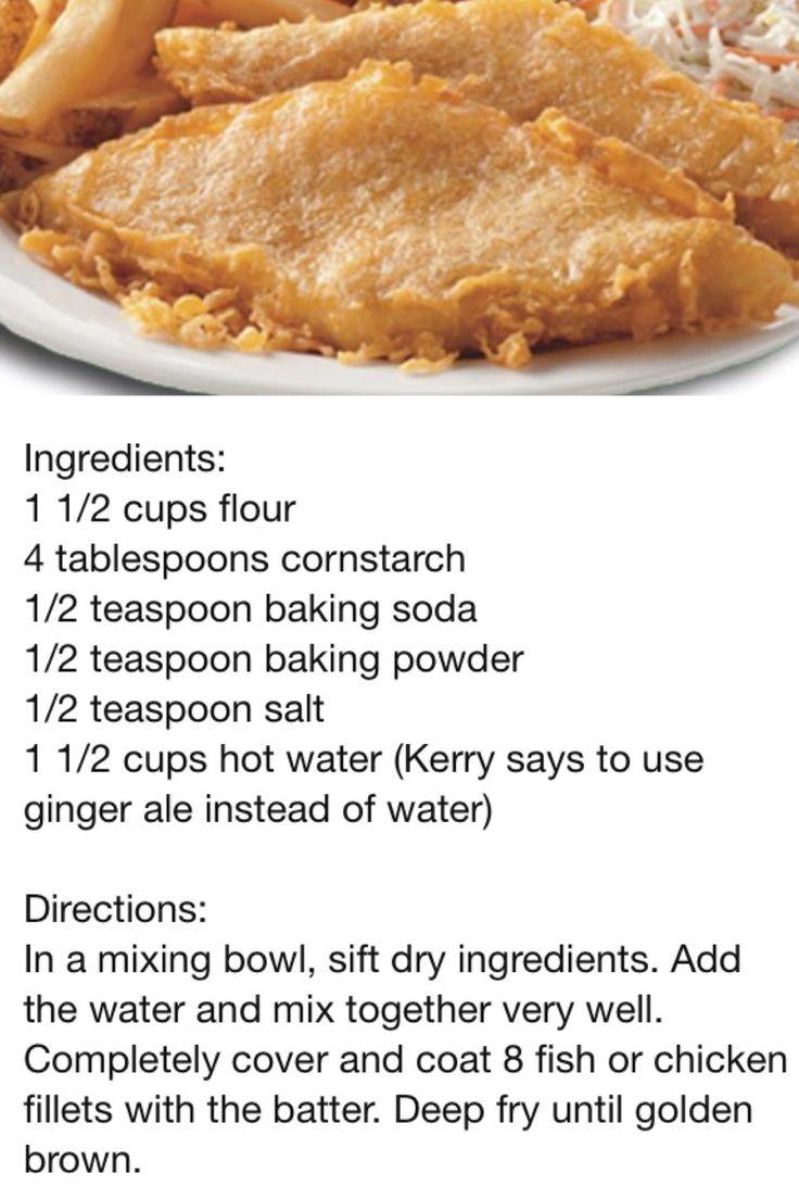 Better-then-Long-John-Silver fish or chicken batter YUM!