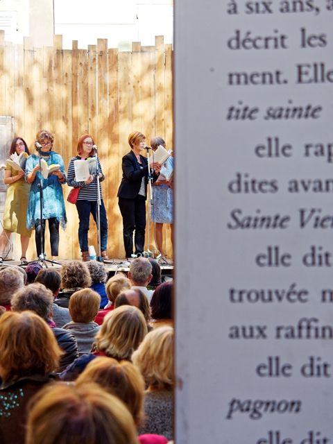 Entendre les #Correspondances à #Manosque  Crédits : Laurent Gayte- Manosque -2015
