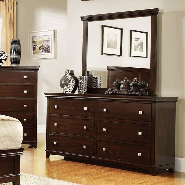 Pebble Brown Cherry Dresser - CM7113D