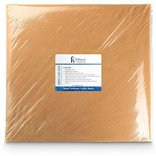 Water Softener Resin Media Replacement 100 Ion Exchange Cation 0 25 Cuft Ion Exchange Water Softener Softener